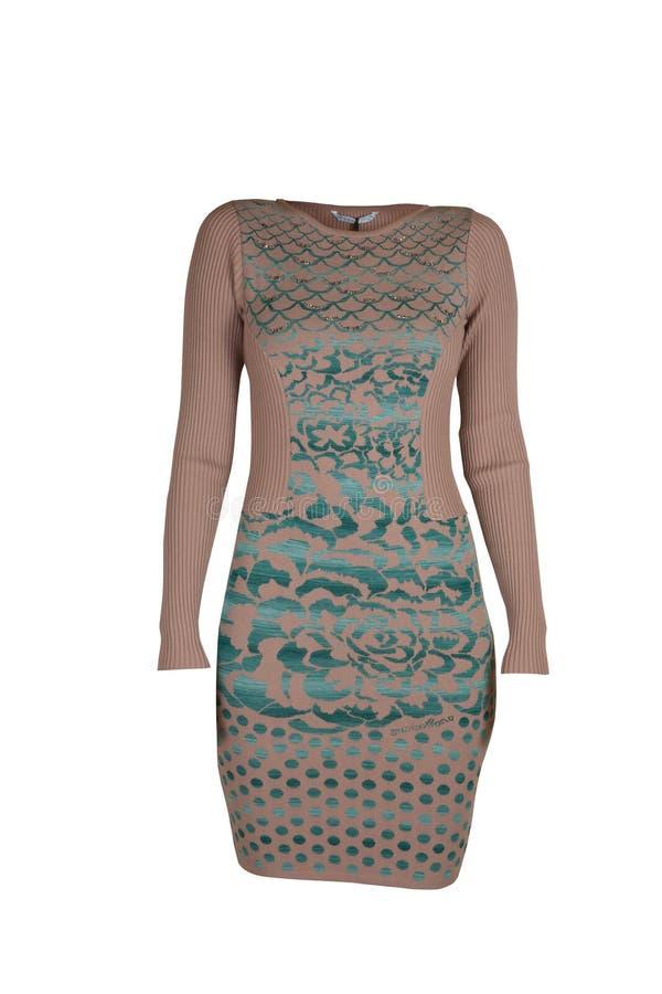 Beige Dress Stock Photo