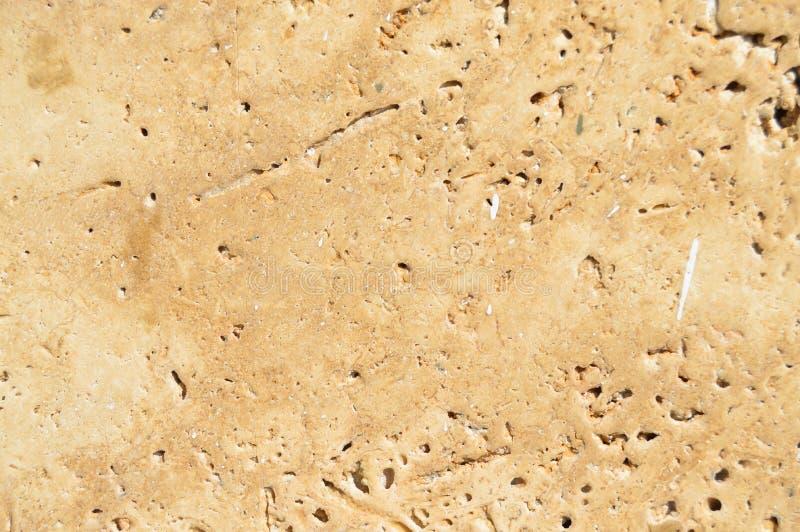 Beige e struttura del marmo dell'oro fotografia stock libera da diritti