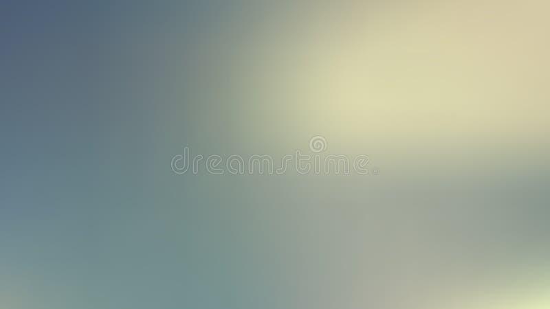Beige en Turquoise Blur Background Illustrator stock illustratie