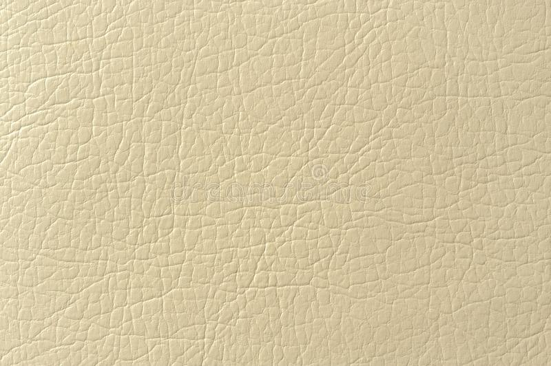 Beige Faux Leather Background Texture Stock Photo - Image ...