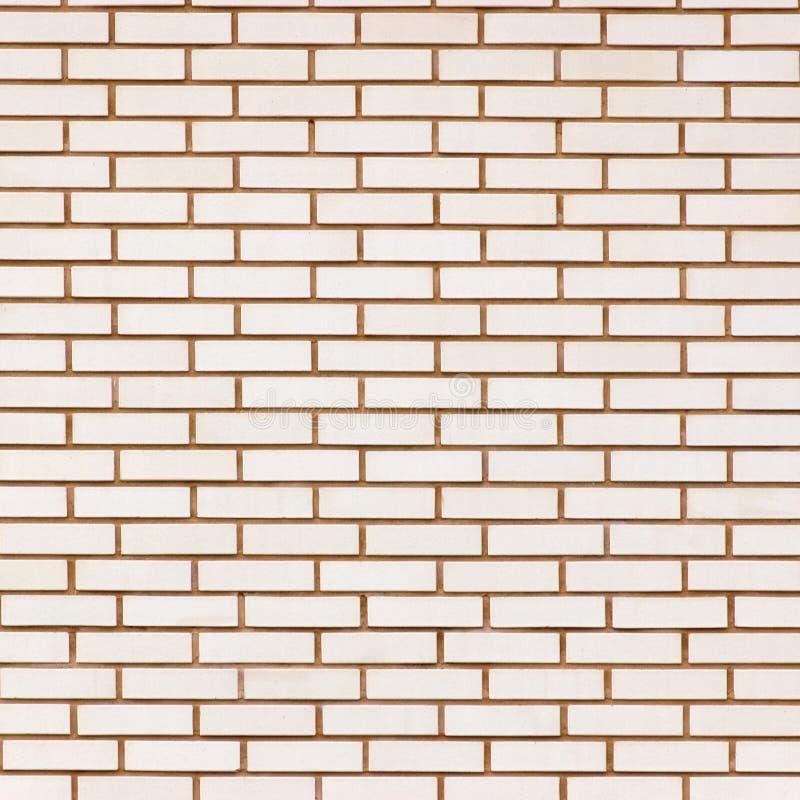 Beige feines Backsteinmauerbeschaffenheits-Hintergrundmuster, große ausführliche strukturierte Nahaufnahme lizenzfreie stockfotos