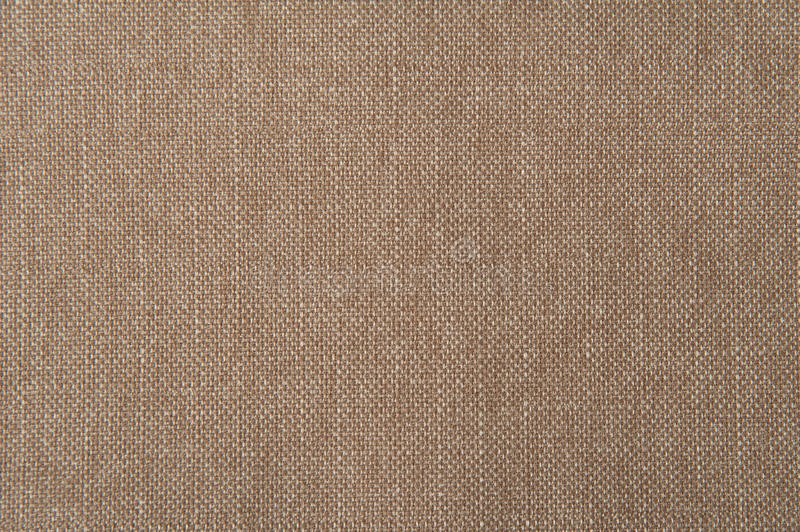 Beige flax cotton fabric texture royalty free stock photo