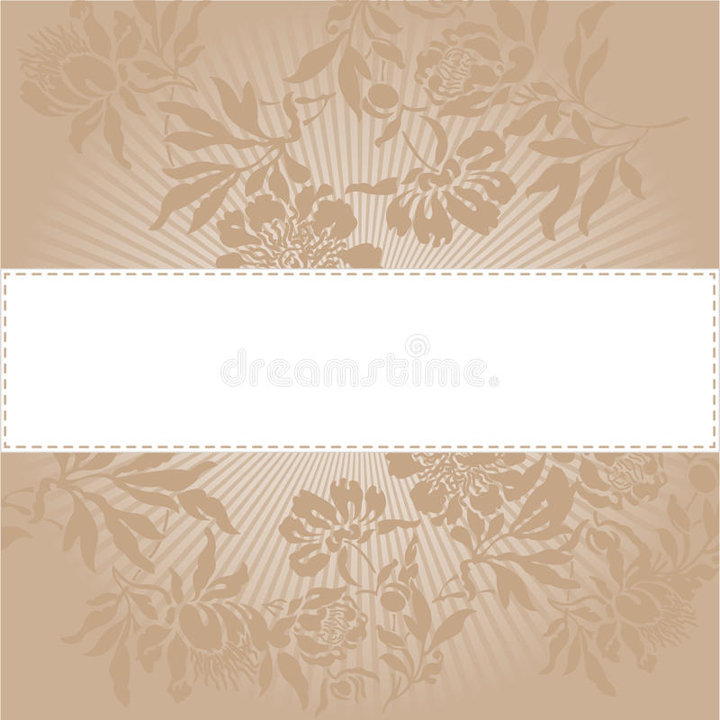 Download Beige Floral Background Stock Photos - Image: 22338273