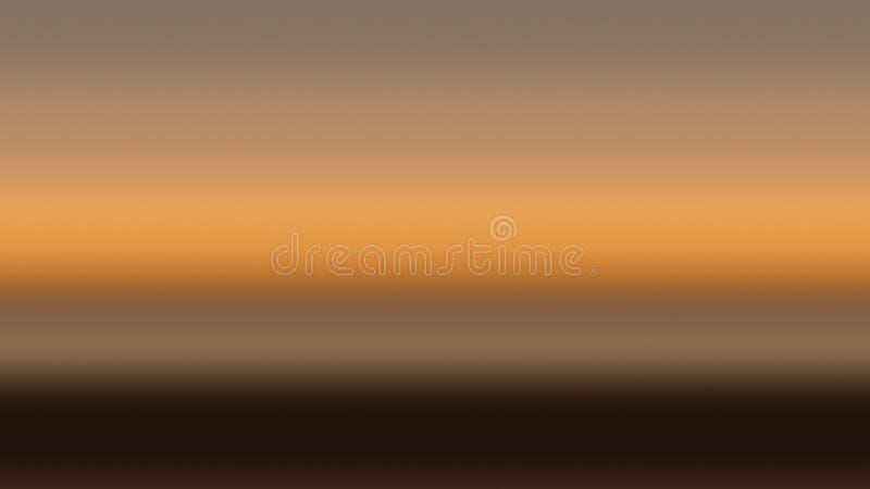 Beige Himmelsteigungs-Hintergrundlicht, Nebelrauch stock abbildung
