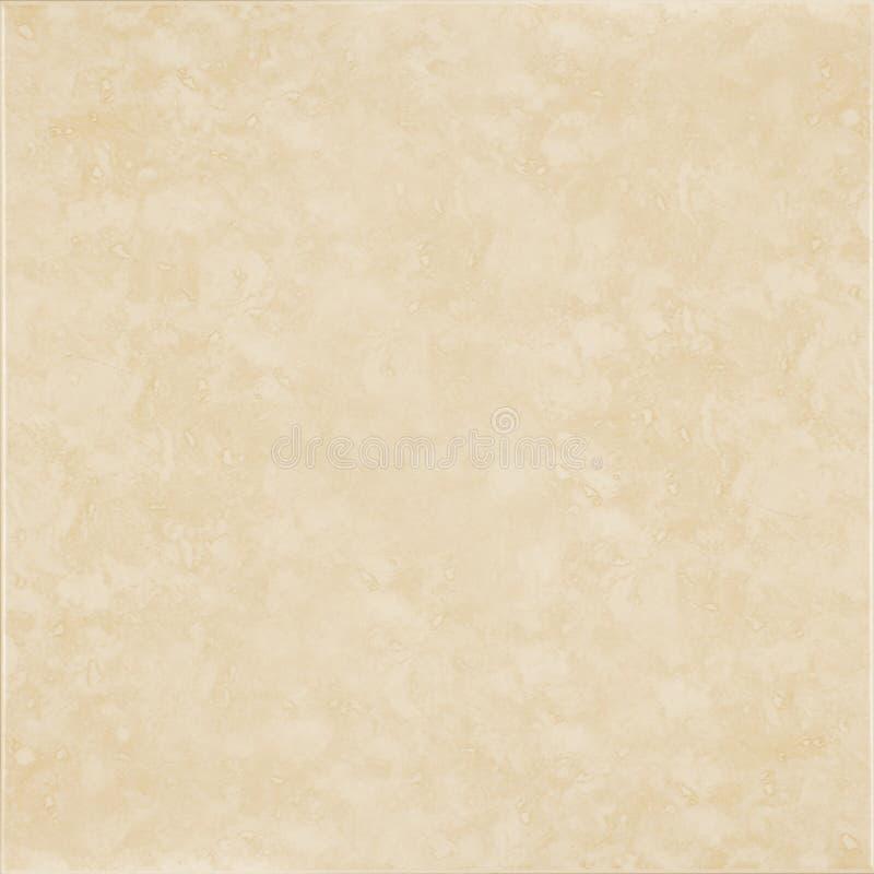 Beige Keramikziegel lizenzfreies stockfoto