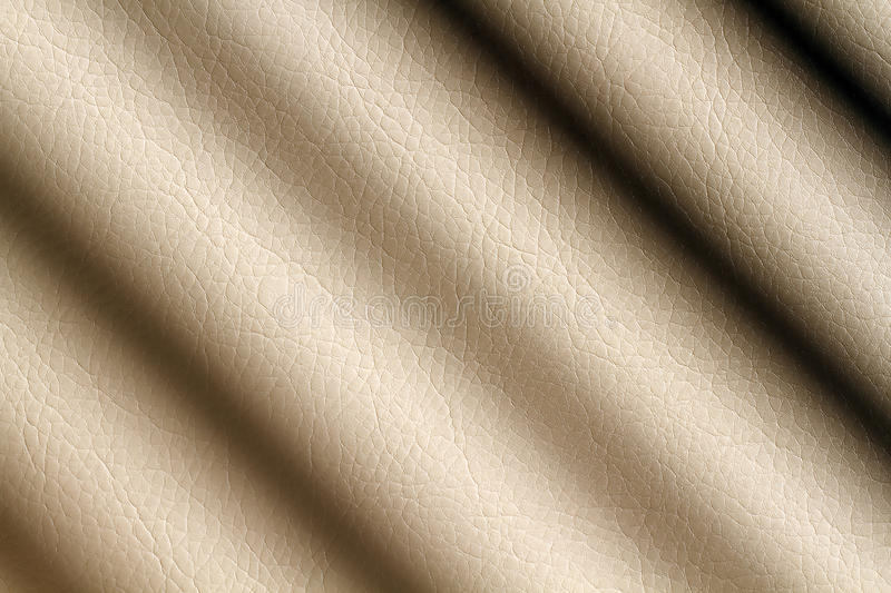 Download Beige leather shaded stock photo. Image of cloth, color - 15896648