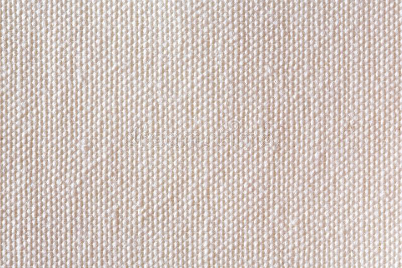 Beige linen canvas. royalty free stock images