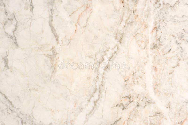 Beige Marmeren steen natuurlijke lichte oppervlakte voor badkamers of keuken stock fotografie