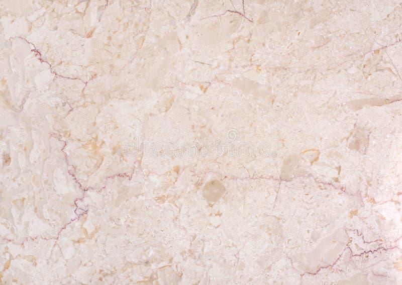 Beige marmor för textur med strimmor arkivbild