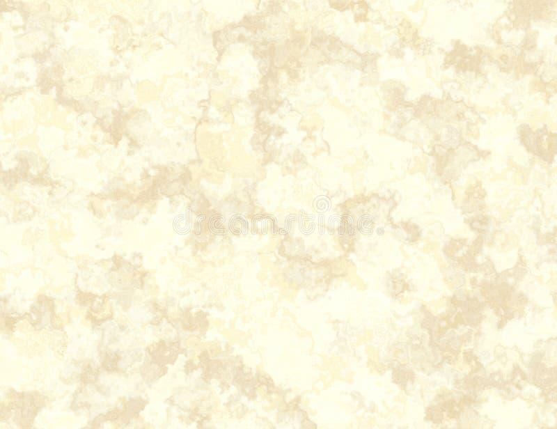Beige Marmorbeschaffenheit mit Stellenmuster lizenzfreie abbildung