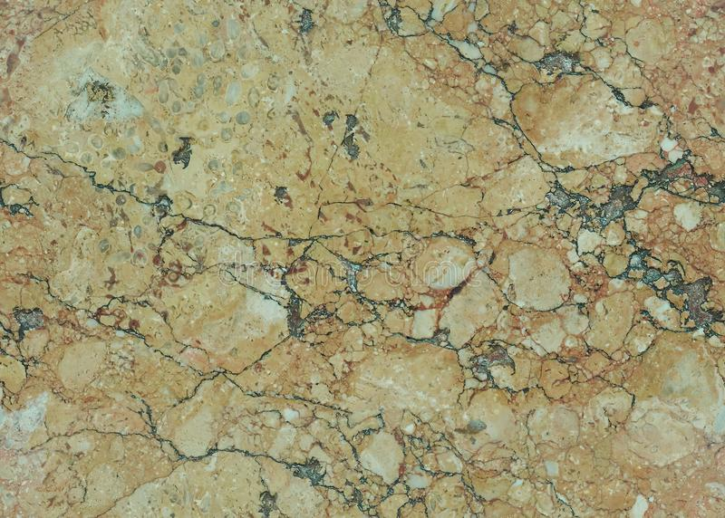 Beige natural seamless granite marble stone texture pattern background. Rough natural stone seamless marble texture surface with g stock image
