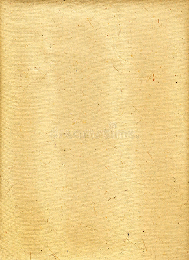 Beige parchment paper royalty free stock image