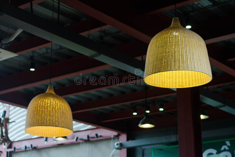 Beige Pendant Lamp Switch On Outside House Free Public Domain Cc0 Image