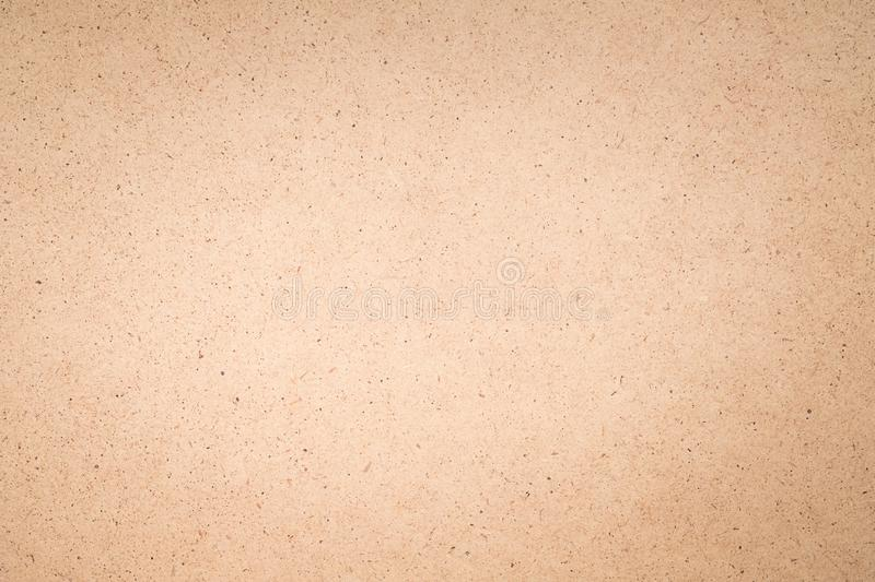 Beige plywood board background engineered wood. Beige plywood board texture abstract art background. Solid color engineered wood surface. Copy space royalty free stock photo