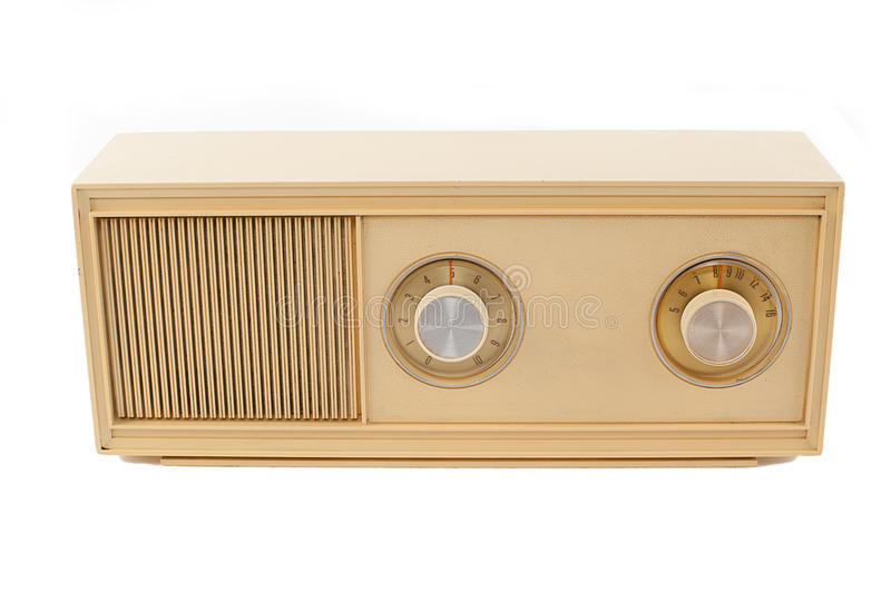 Download Beige radio stock photo. Image of receiver, technology - 27076070