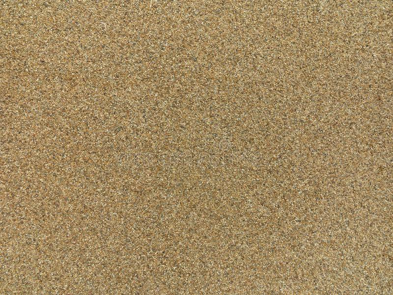Beige sand gravel texture background royalty free stock images