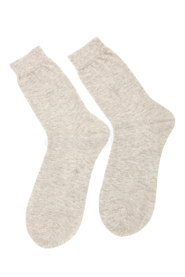 Download Beige socks stock image. Image of isolated, brown, frost - 16747699