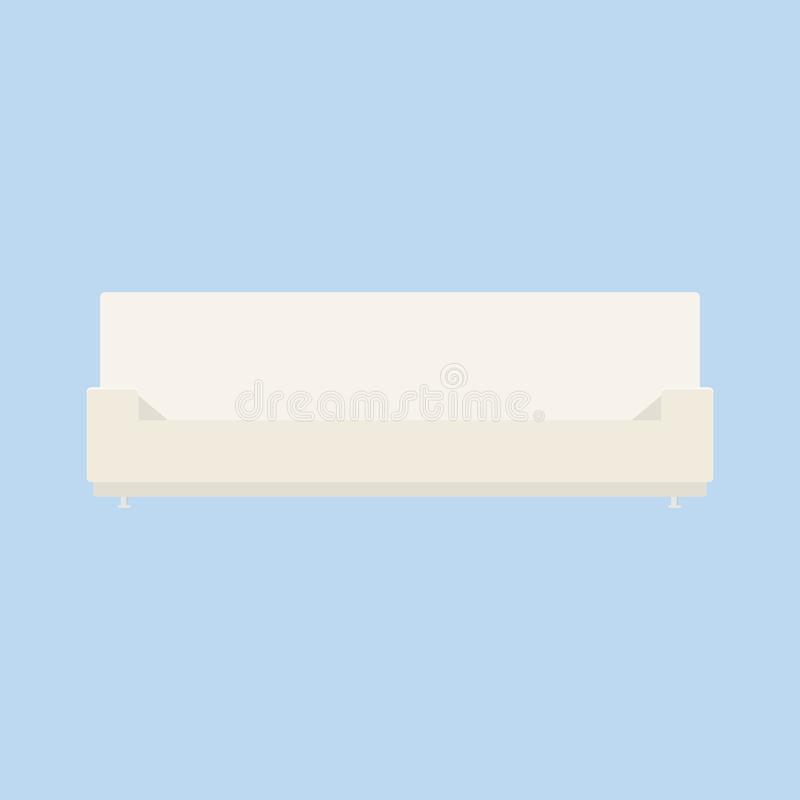 beige sofa stock illustrationer