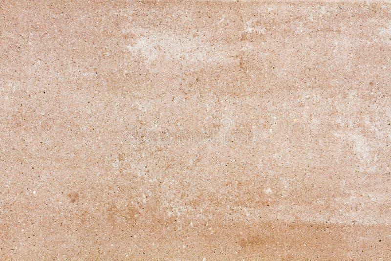 Beige steenplaat met korrel stock illustratie