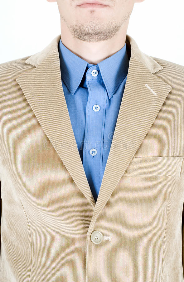 Download Beige suit stock photo. Image of beige, clothes, silk - 21025092