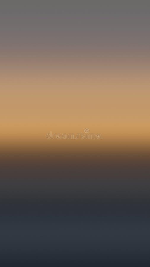 Beige Terrakottahimmelsteigungs-Hintergrundlicht, Nebel lizenzfreie abbildung