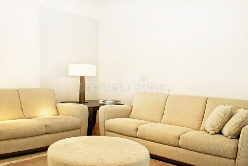 Download Beige textile sofas stock photo. Image of decoration, interior - 6686868