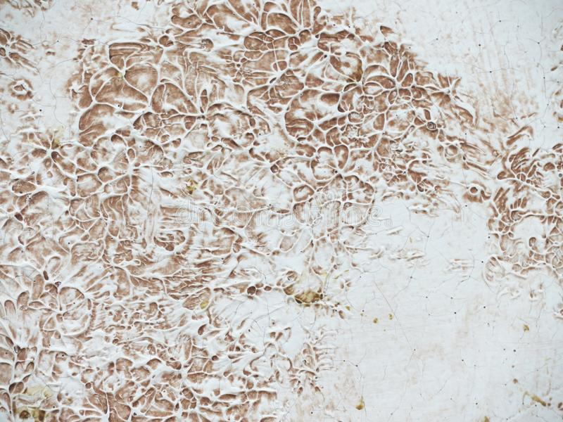 Texture plaster, beige texture of plaster, wall textural prints of paint stock photo