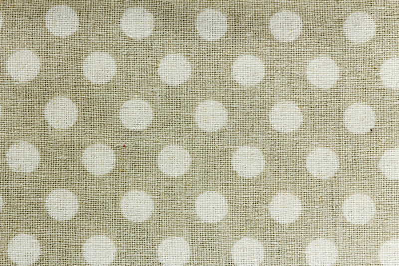 Beige und weiße Tischdeckemusterhintergründe lizenzfreies stockfoto