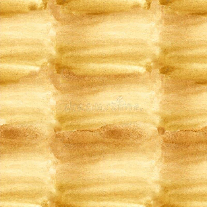 Beige vattenfärgbakgrund - sömlös pappers- textur modell royaltyfria foton