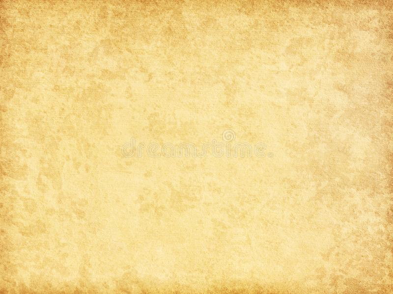 Beige vintage background. Aged paper texture royalty free stock photos