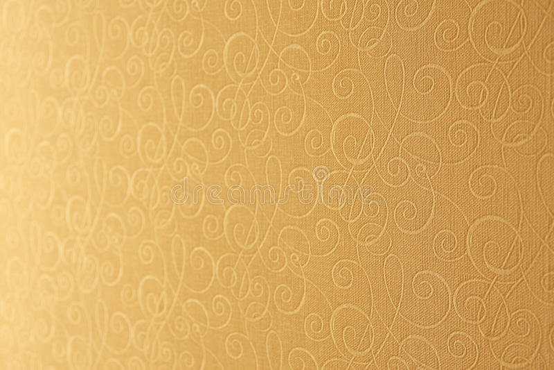 Beige wallpaper. Shallow depth of field. stock photo