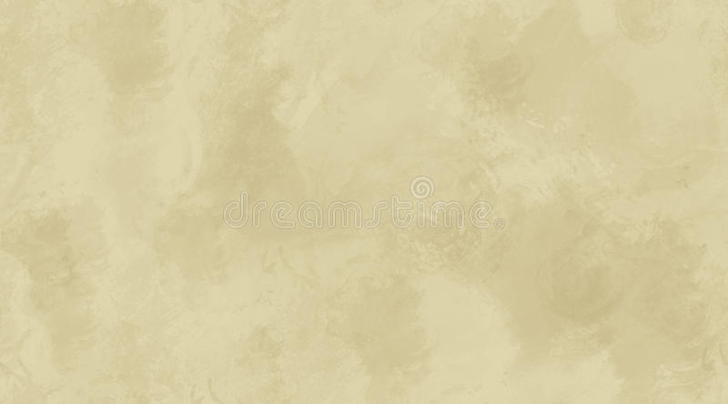 Beige Watercolor Background Seamless Tile Texture royalty free illustration