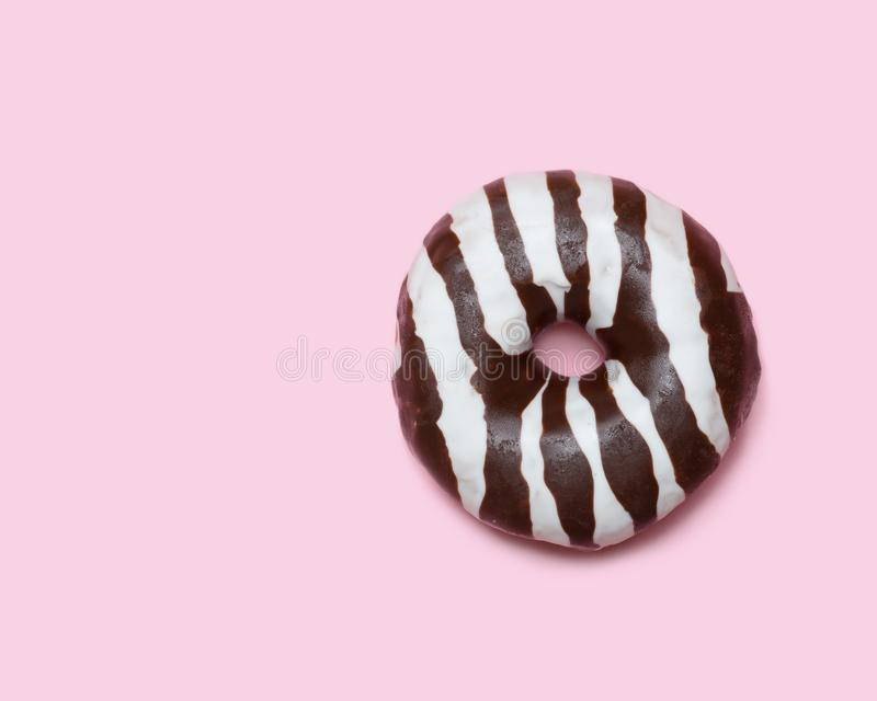 Beignet de chocolat photos libres de droits