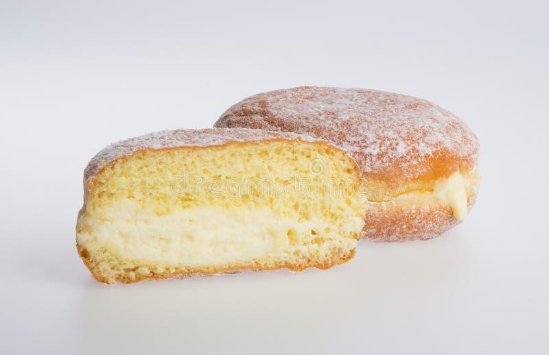 beignet ou beignet de sucre sur un fond image libre de droits
