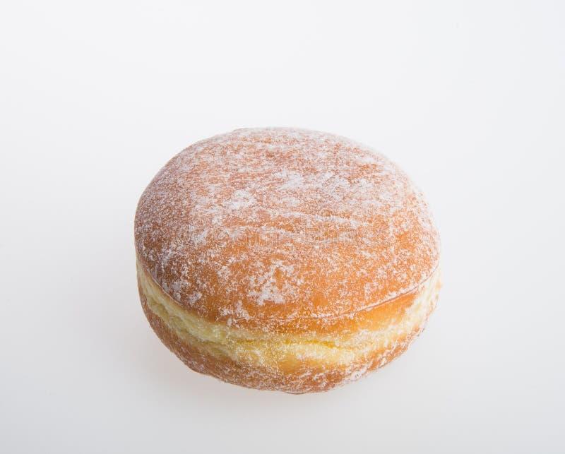 beignet ou beignet de sucre sur un fond image stock