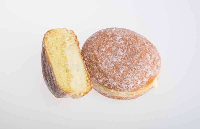 beignet ou beignet de sucre sur un fond photo libre de droits
