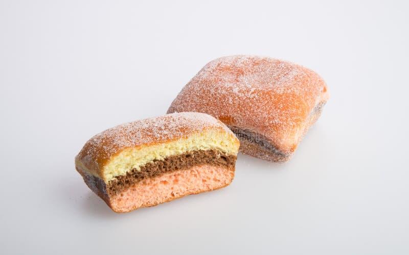 beignet ou beignet de sucre sur un fond photos libres de droits