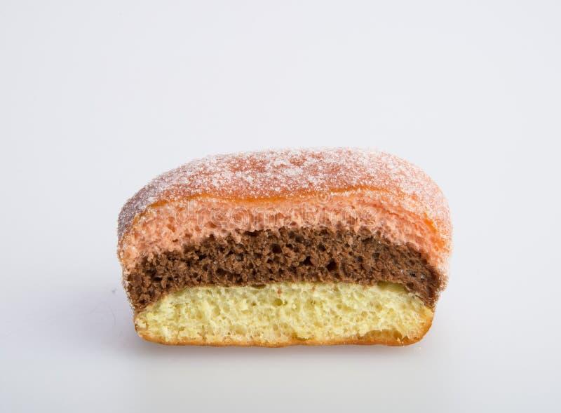 beignet ou beignet de sucre sur un fond photo stock