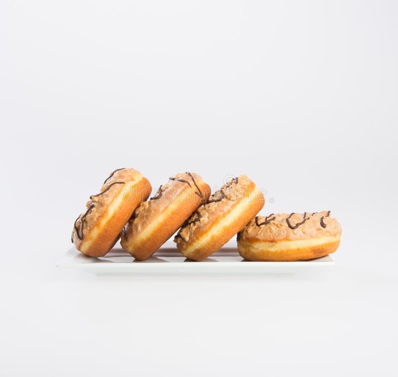 beignet ou beignet frais sur un fond image libre de droits