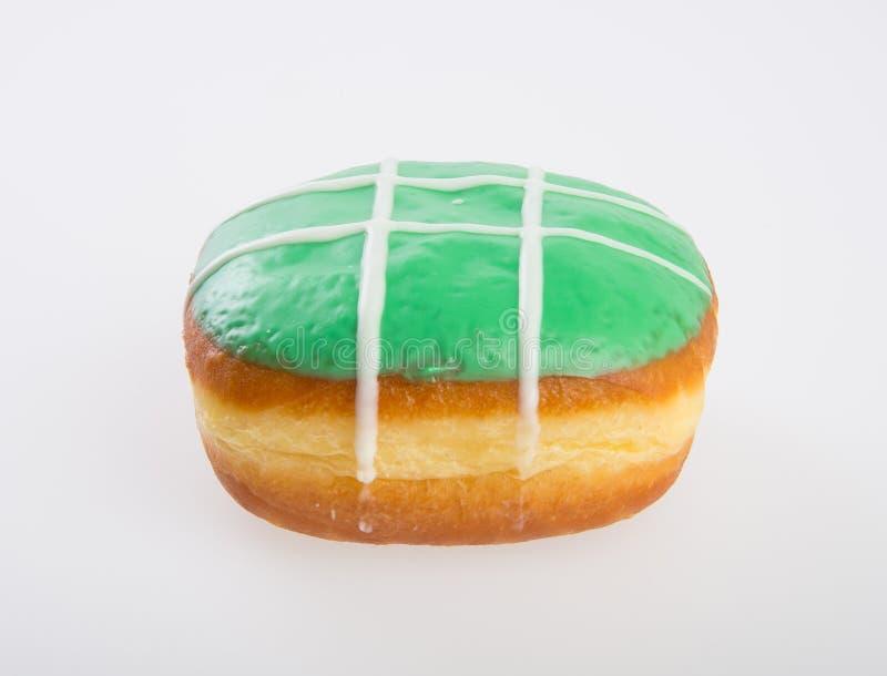 beignet ou beignet frais sur un fond photo libre de droits