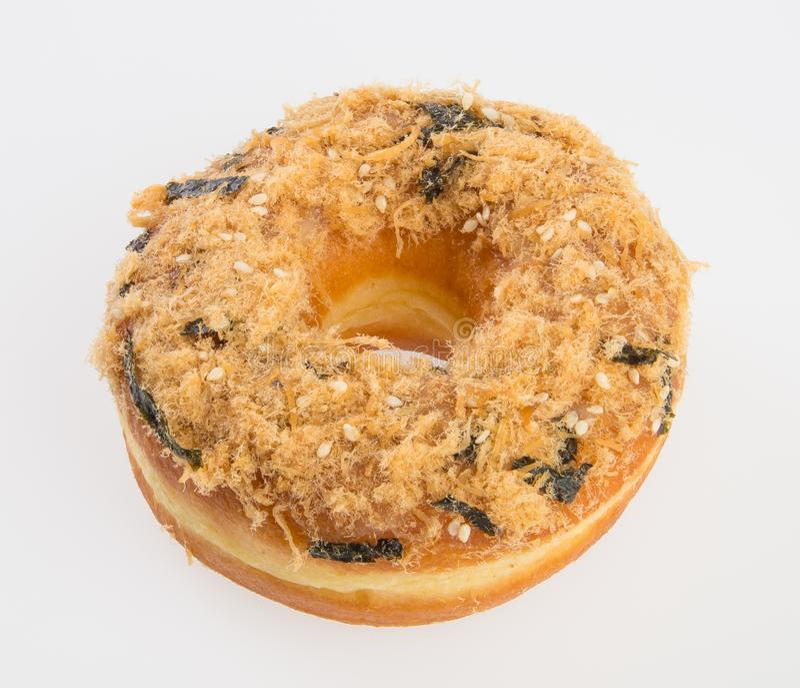 beignet ou beignet frais sur un fond photos libres de droits
