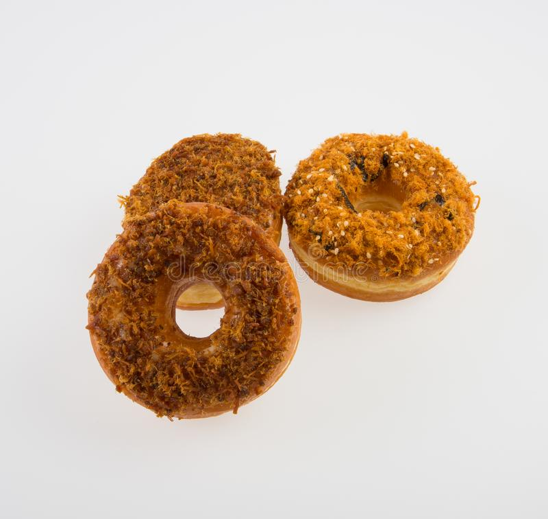 beignet ou beignet frais sur un fond images libres de droits