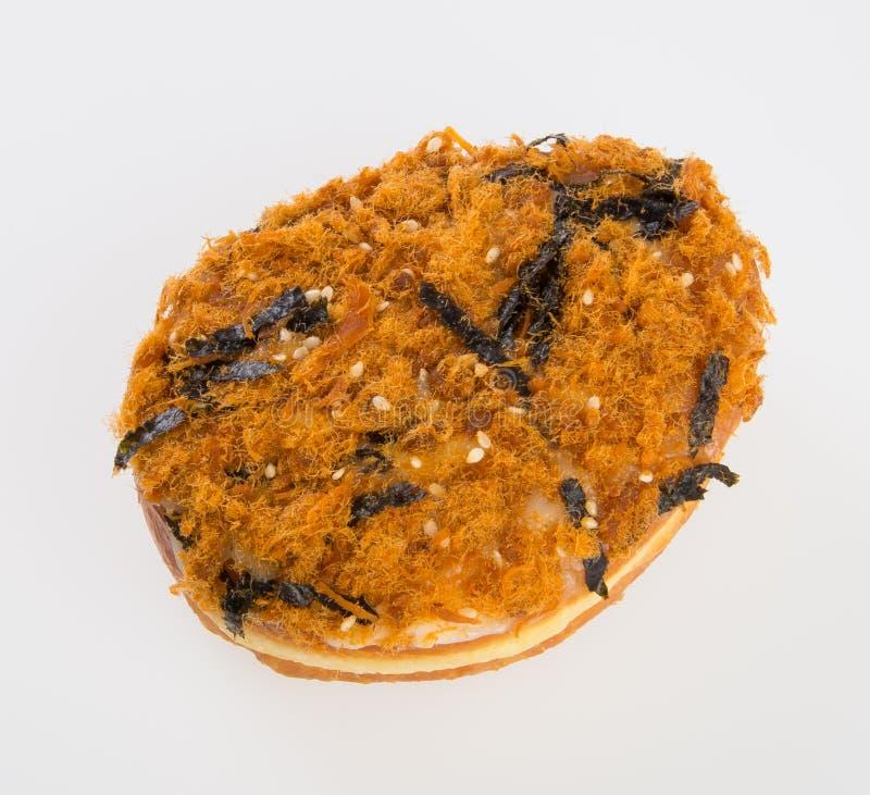 beignet ou beignet frais sur un fond image stock