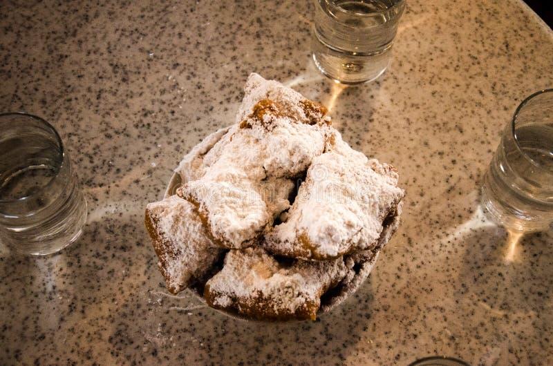 Beignets - New Orleans fotografie stock libere da diritti