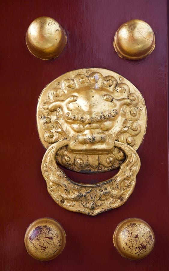 beijing świątynia porcelanowa drzwiowa niebiańska cesarska zdjęcia stock