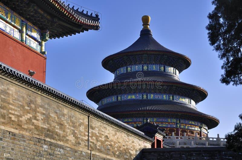 beijing świątynia porcelanowa niebiańska fotografia royalty free