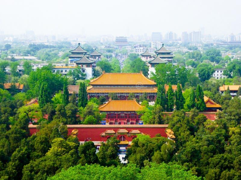 Beijing& x27 απαγορευμένα το s παλάτια πόλεων στοκ φωτογραφίες