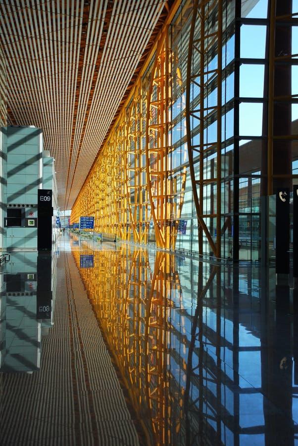 The Beijing Airport stock photos