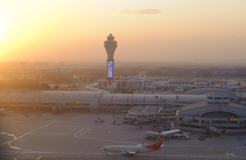 Beijing airport royalty free stock images