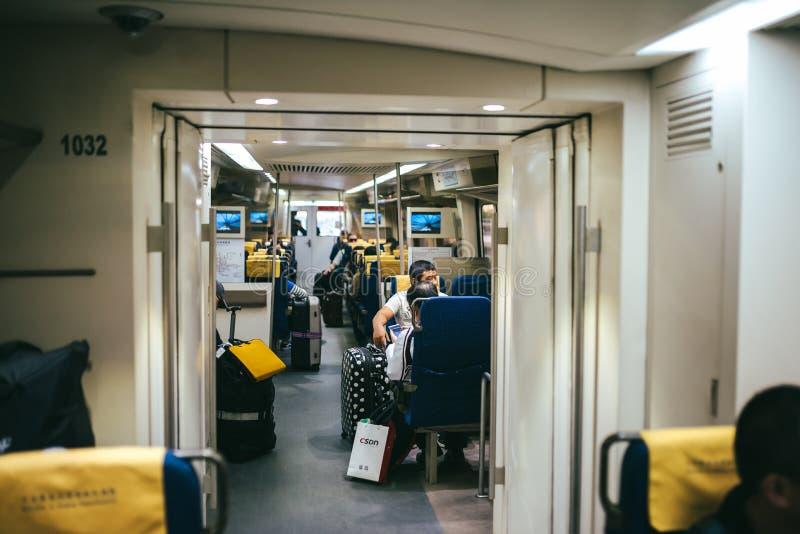 Beijing Airport Express Train stock image